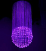 Fibre Optic chandelier - METEOR